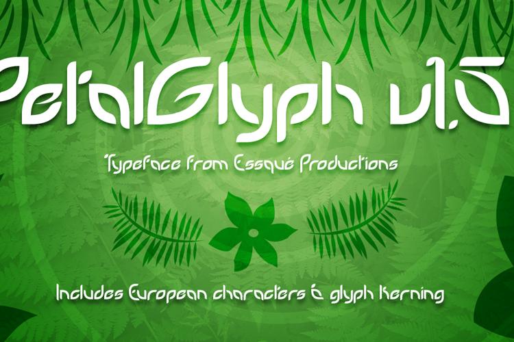 PetalGlyph Font