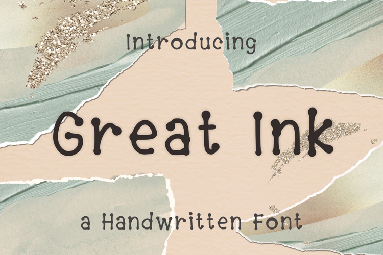 Great Ink Font