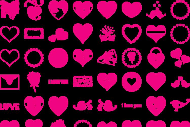 Font I Love You