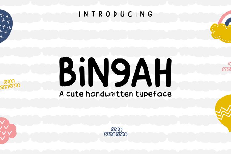 Bingah Font