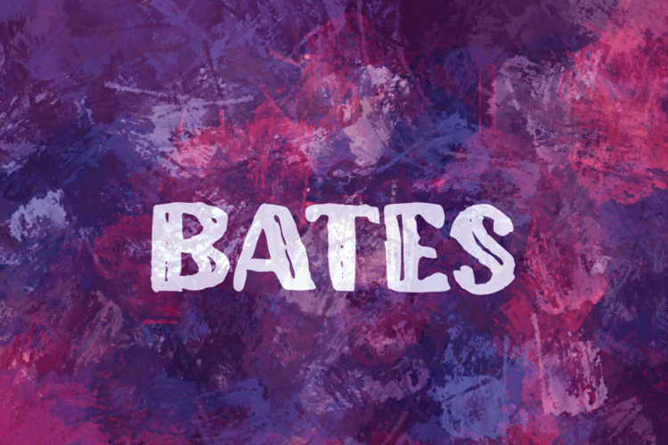 b Bates Font