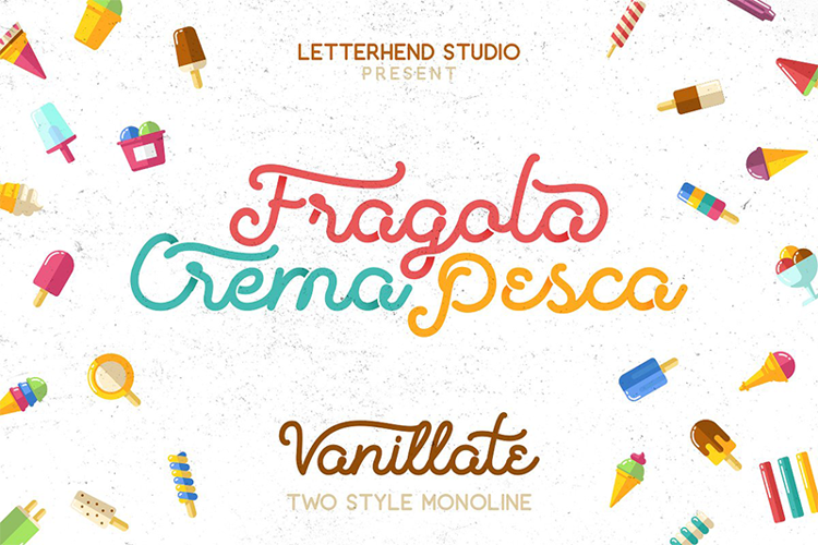 Vanillate Font