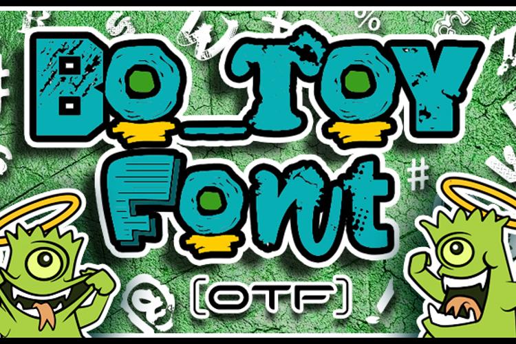 Bo Toy Font
