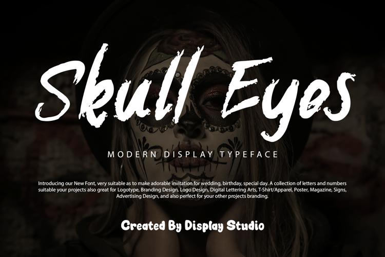 Skull Eyes Font
