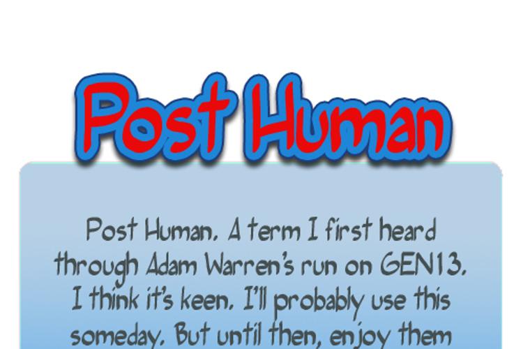 Post Human Font
