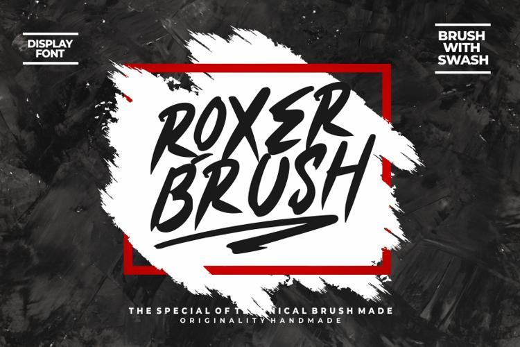 Roxer Font