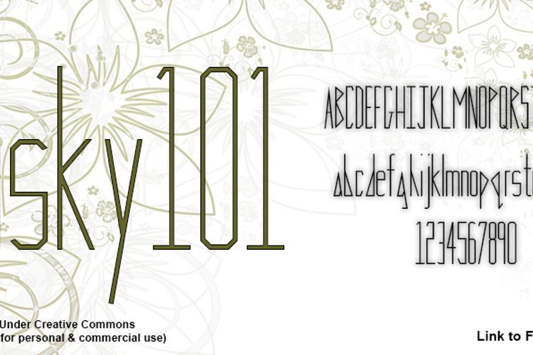Risky 101 Font