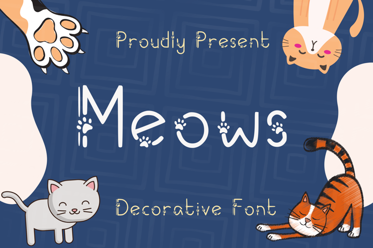 Meows Font
