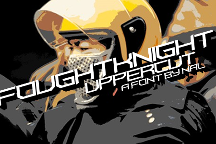 FoughtKnight UpperCut Font