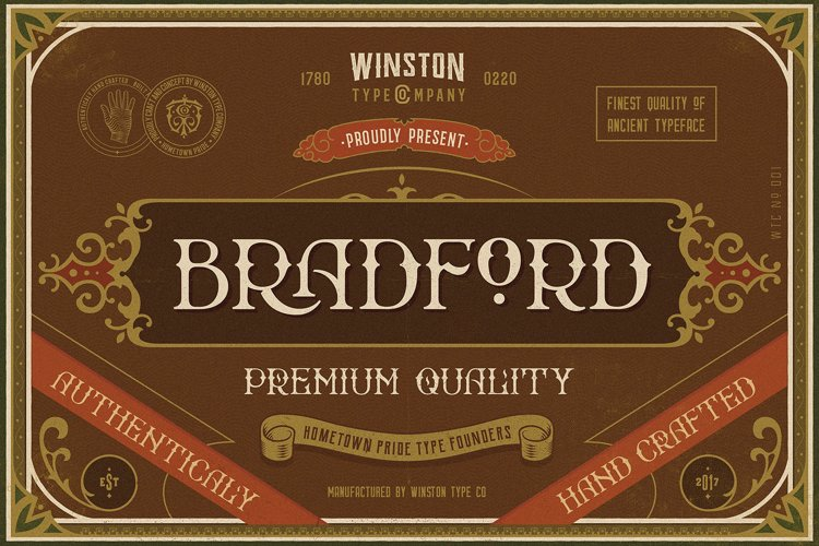 Bradford Font