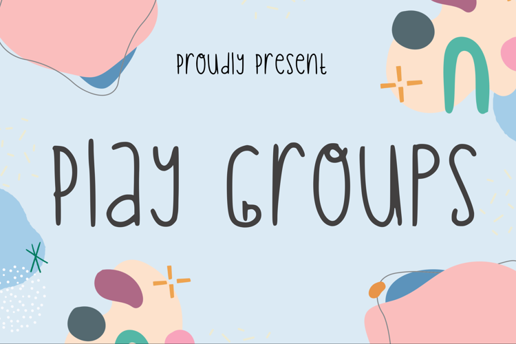 Play Groups Font
