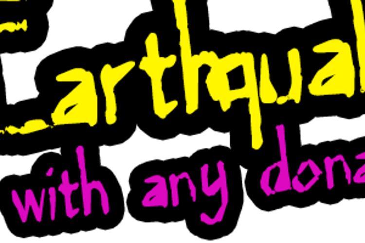 MajorEarthquake Font