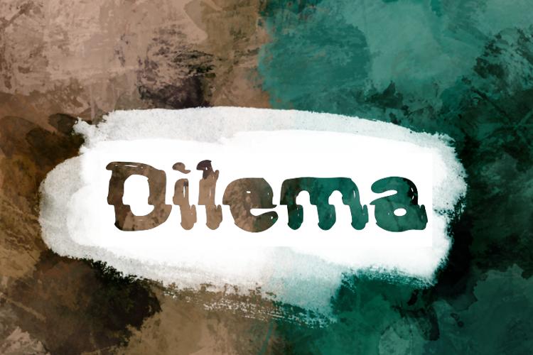 d Dilema Font