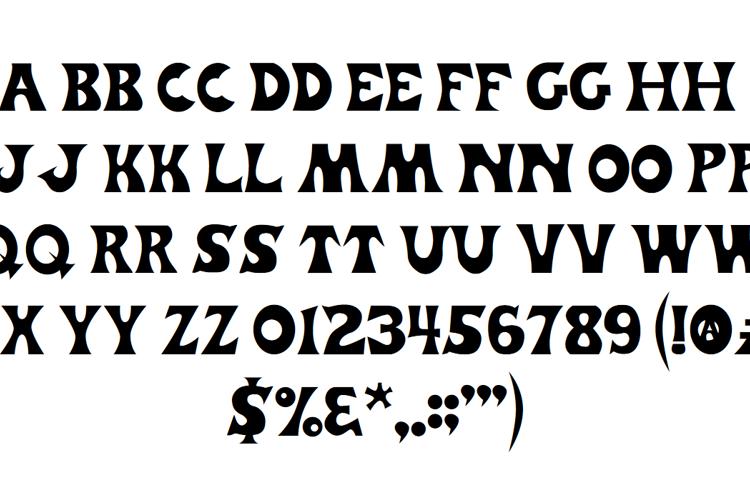 Trader Joe's Font