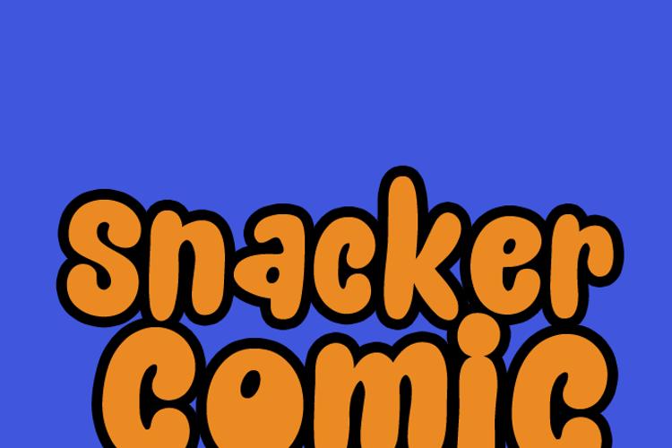Snacker Comic Font