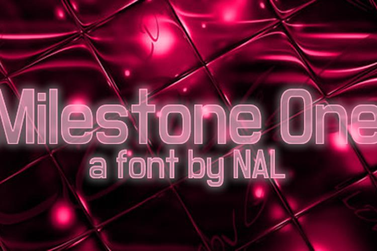 Milestone One Font