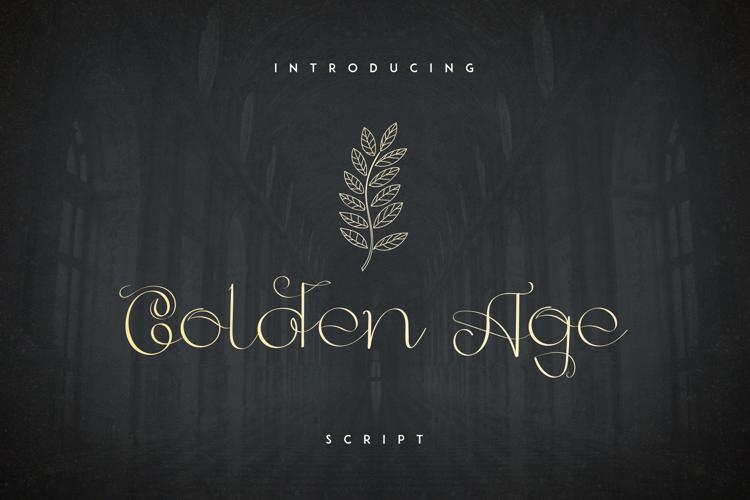GoldenAge Font