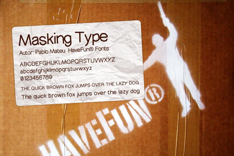 MaskingType Font