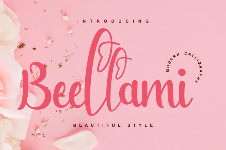Bellami Font