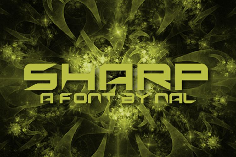 Sharp Font