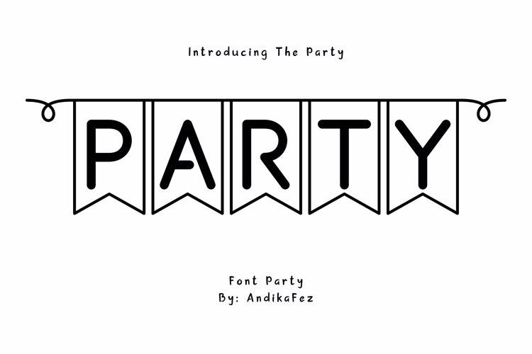 partybyaf Font