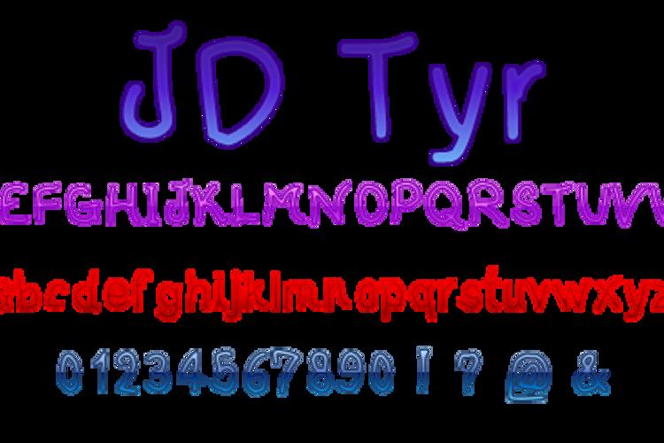 JDTyr Font