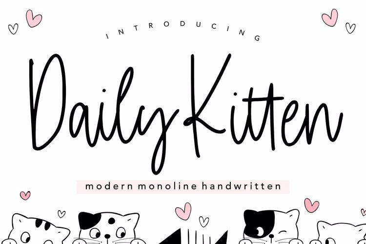 Daily Kitten Font