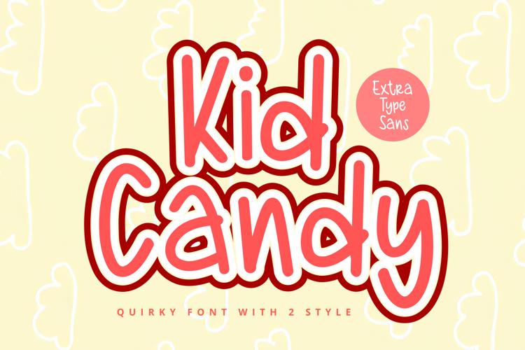 Kid Candy Sans Font