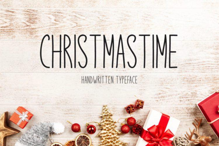 Christmastime Font
