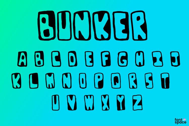 Bunker Font
