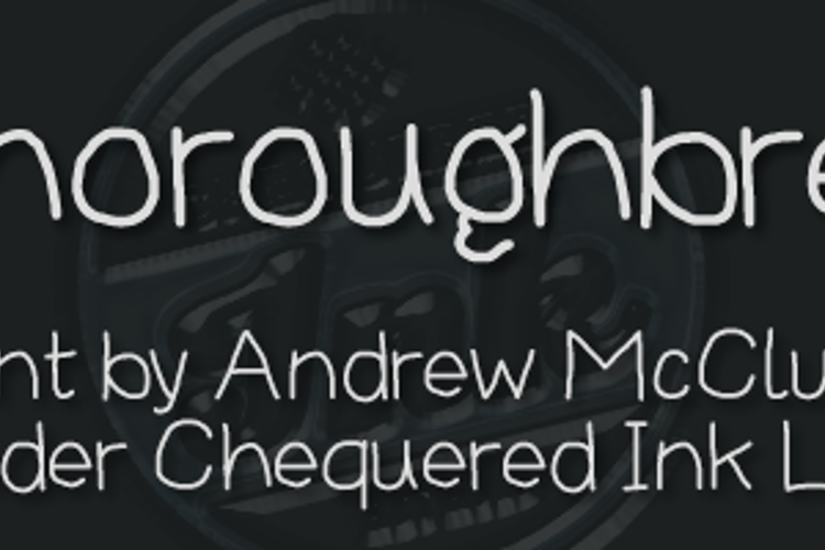Thoroughbred Font