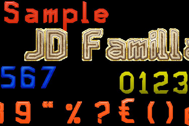 JD Familla Font