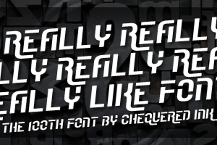 I Really Really Really Really R Font