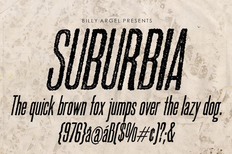 SUBURBIA Font