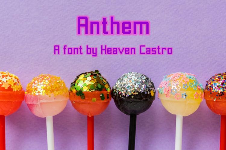 Anthem Font