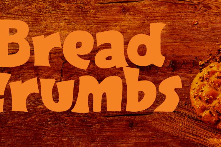 Breadcrumbs Font