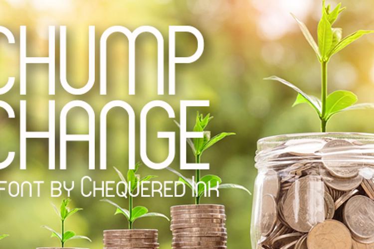 Chump Change Font