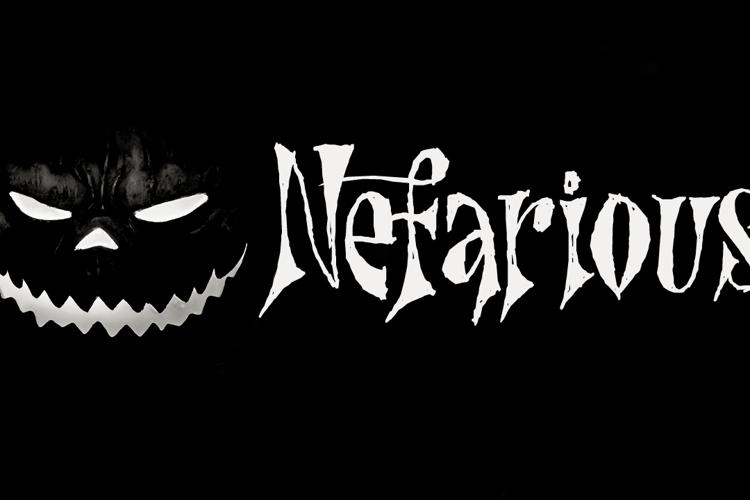 Nefarious (Demo) Font