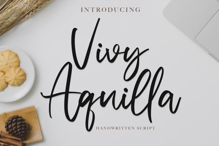 Vivy Aquilla Font