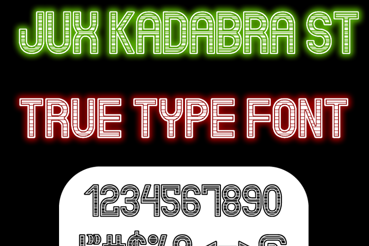 Jux Kadabra St Font