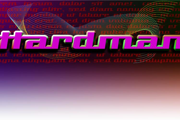 Hardman Font