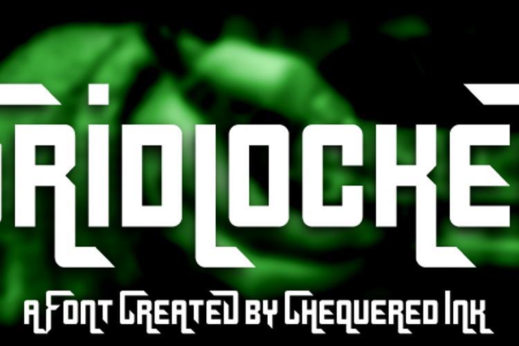 Gridlocked Font