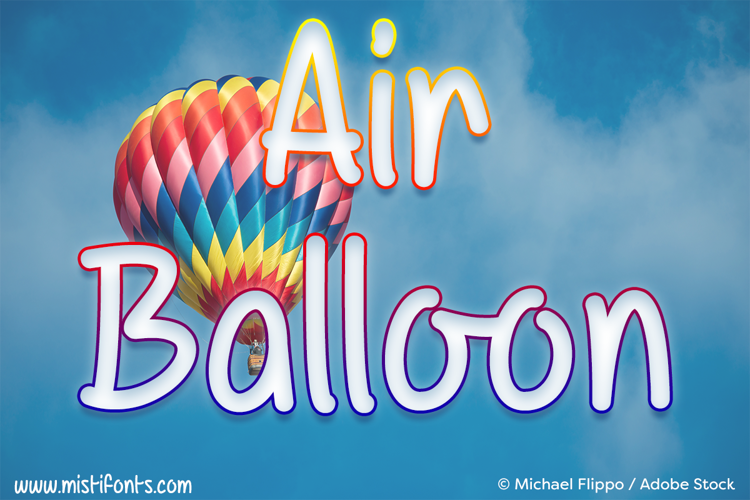 Mf Air Balloon Font