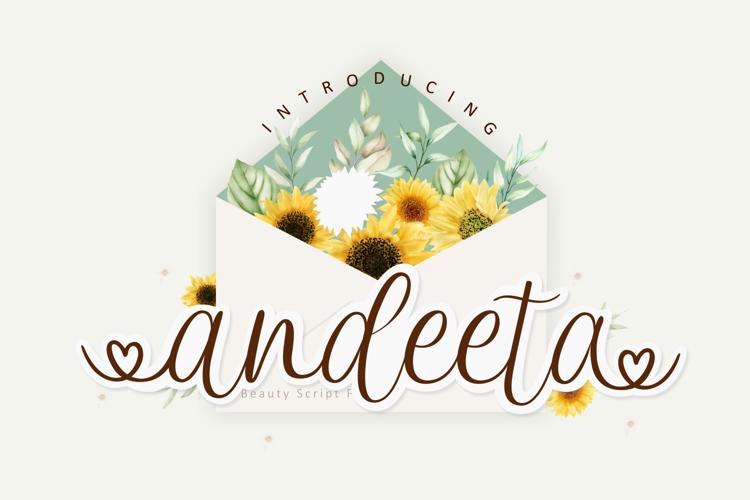 Andeeta Font