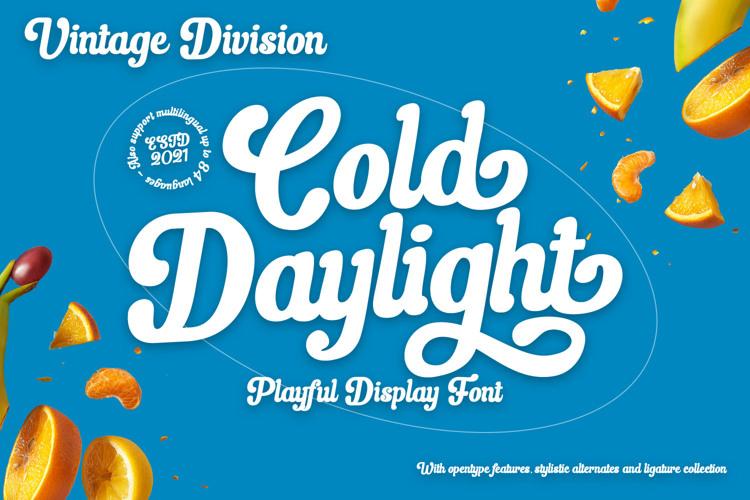 Cold Daylight Font