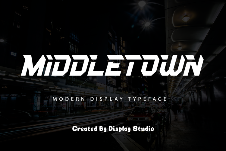 Middletown Font
