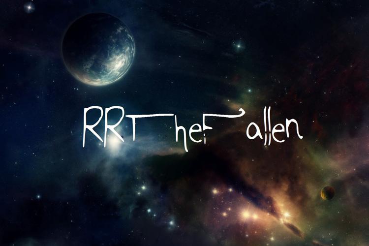 RRTheFallen Font