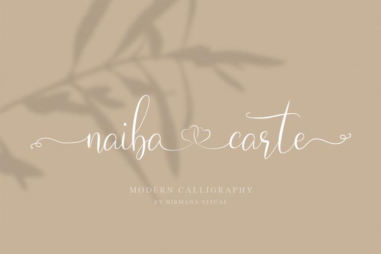 Naibacarte Font