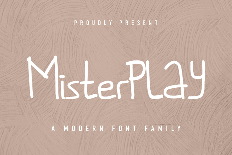 Misterplay Font