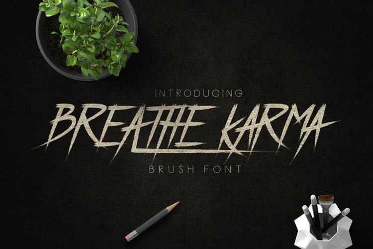 Breathe Karma Font